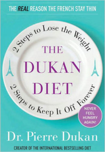 okładka książki dr dukana o diecie