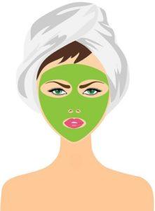 maseczki przeciwdziałające starzeniu się skóry na twarzy